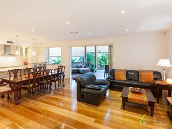 Brown living room idea from a real Australian home - Living Area photo 8907417