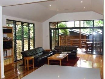 Black living room idea from a real Australian home - Living Area photo 7017249
