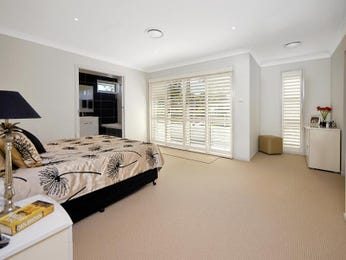 Classic bedroom design idea with leather & bi-fold windows using silver colours - Bedroom photo 419864