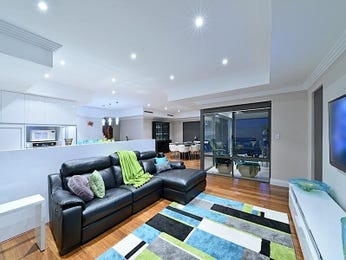 Blue living room idea from a real Australian home - Living Area photo 7885553