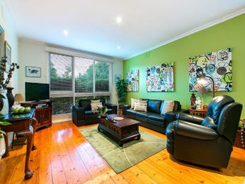 Green living room idea from a real Australian home - Living Area photo 7614053