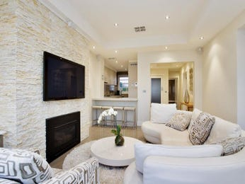 White living room idea from a real Australian home - Living Area photo 8965689