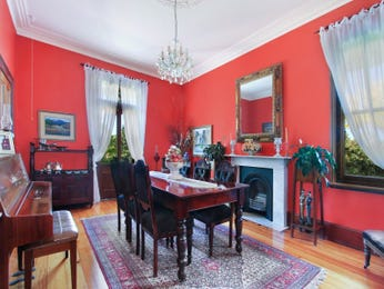 Red dining room idea from a real Australian home - Dining Room photo 6939501