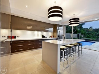 Chandelier in a kitchen design from an Australian home - Kitchen Photo 7238097