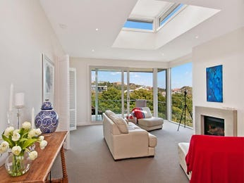 Red living room idea from a real Australian home - Living Area photo 7101893