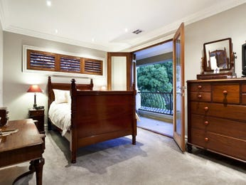 Brown bedroom design idea from a real Australian home - Bedroom photo 242540