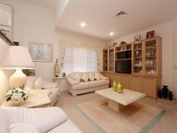 Brown living room idea from a real Australian home - Living Area photo 596899