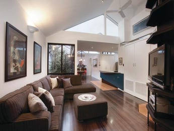 Brown living room idea from a real Australian home - Living Area photo 1557419