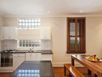 Wood panelling in a kitchen design from an Australian home - Kitchen Photo 1442794