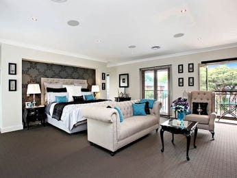 Blue bedroom design idea from a real Australian home - Bedroom photo 7718493