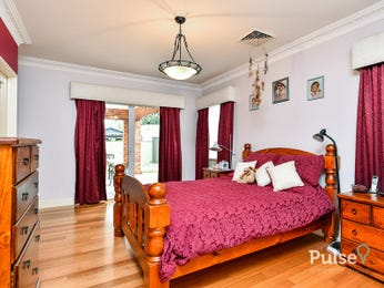 Red bedroom design idea from a real Australian home - Bedroom photo 15155533
