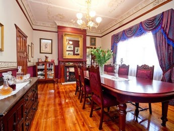 Purple dining room idea from a real Australian home - Dining Room photo 2009633