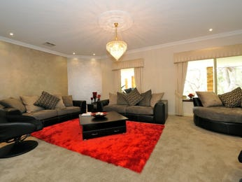 Gold living room idea from a real Australian home - Living Area photo 678151