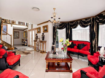Red living room idea from a real Australian home - Living Area photo 7050913