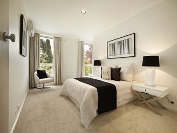 Beige bedroom design idea from a real Australian home - Bedroom photo 8364149