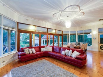 Red living room idea from a real Australian home - Living Area photo 7484473