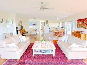 Orange living room idea from a real Australian home - Living Area photo 16039509