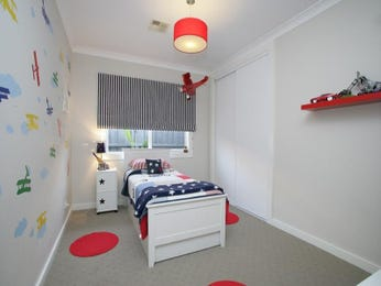 Red bedroom design idea from a real Australian home - Bedroom photo 1423701