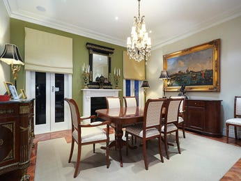 Green dining room idea from a real Australian home - Dining Room photo 7761009