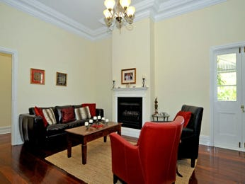 Brown living room idea from a real Australian home - Living Area photo 1082774
