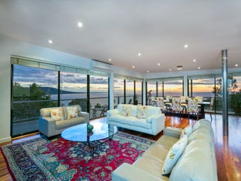 Blue living room idea from a real Australian home - Living Area photo 7057889