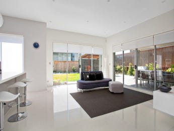 Brown living room idea from a real Australian home - Living Area photo 537669