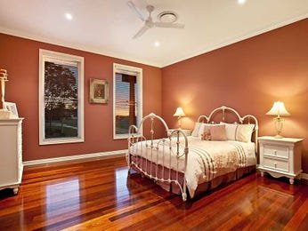 Brown bedroom design idea from a real Australian home - Bedroom photo 1475516