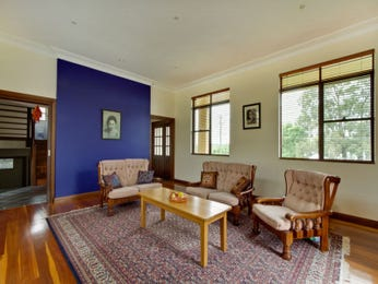 Blue living room idea from a real Australian home - Living Area photo 980286