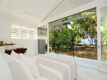 Classic bedroom design idea with glass & bi-fold doors using white colours - Bedroom photo 1488535