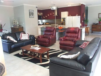 Black living room idea from a real Australian home - Living Area photo 1566748