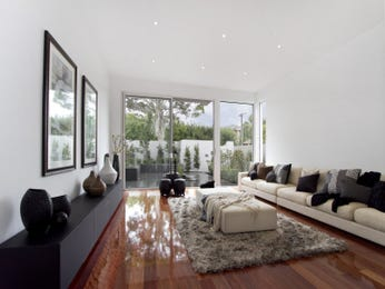 Black living room idea from a real Australian home - Living Area photo 676960