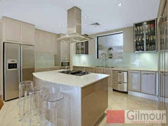Modern island kitchen design using slate - Kitchen Photo 1436086