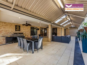 Enclosed outdoor living design with outdoor dining & outdoor furniture setting using brick - Outdoor Living Photo 1483220