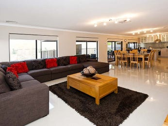 Cream living room idea from a real Australian home - Living Area photo 1341138