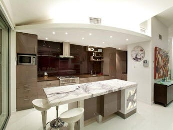 Modern island kitchen design using granite - Kitchen Photo 530331