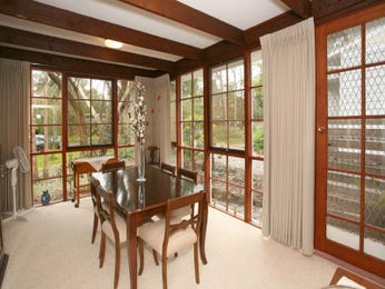 Classic dining room idea with carpet & floor-to-ceiling windows - Dining Room Photo 1215414