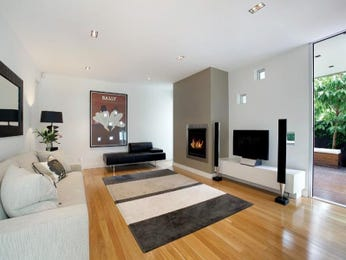 Black living room idea from a real Australian home - Living Area photo 1089631