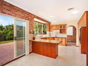 Exposed brick in a kitchen design from an Australian home - Kitchen Photo 1194414
