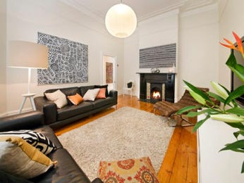 Black living room idea from a real Australian home - Living Area photo 1014860