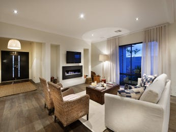 Beige living room idea from a real Australian home - Living Area photo 1512334