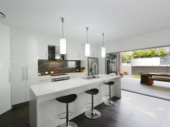 Pendant lighting in a kitchen design from an Australian home - Kitchen Photo 7532921