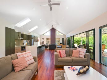 Brown living room idea from a real Australian home - Living Area photo 1252135