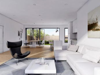 White living room idea from a real Australian home - Living Area photo 15571433