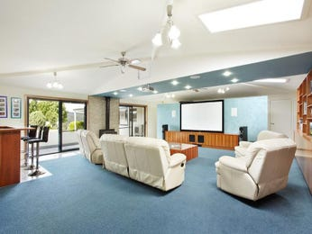 Black living room idea from a real Australian home - Living Area photo 1130018