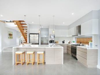 Pendant lighting in a kitchen design from an Australian home - Kitchen Photo 16877001