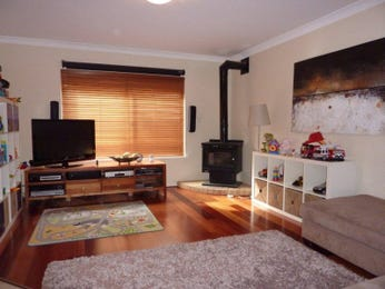 Beige living room idea from a real Australian home - Living Area photo 1279520