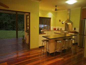 Floorboards in a kitchen design from an Australian home - Kitchen Photo 662286