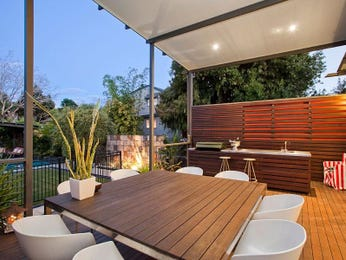 Outdoor living design with bbq area from a real Australian home - Outdoor Living photo 302430