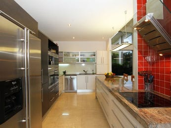 Polished concrete in a kitchen design from an Australian home - Kitchen Photo 1468928