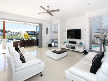 White living room idea from a real Australian home - Living Area photo 1228045